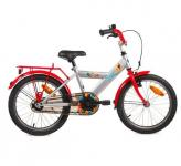"Bike fun 18"" space rood/zilver 18space20"