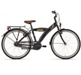 "Bike fun 26"" city jongens urban 3 speed zwart 26uj25"