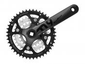 Sunrace crankset 9 speed 44/32/22t -5mm verdiept fcm914