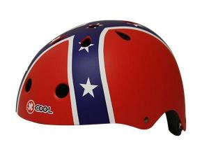 Cycle tech helm xcool confederation vlag 48-54 cm 2810274