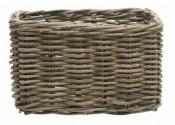 New looxs 442.713 baskets brisbane mand medium riet grey 23l