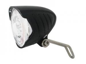 Cycle tech koplamp led naafdynamo aan/uit met standlicht blister